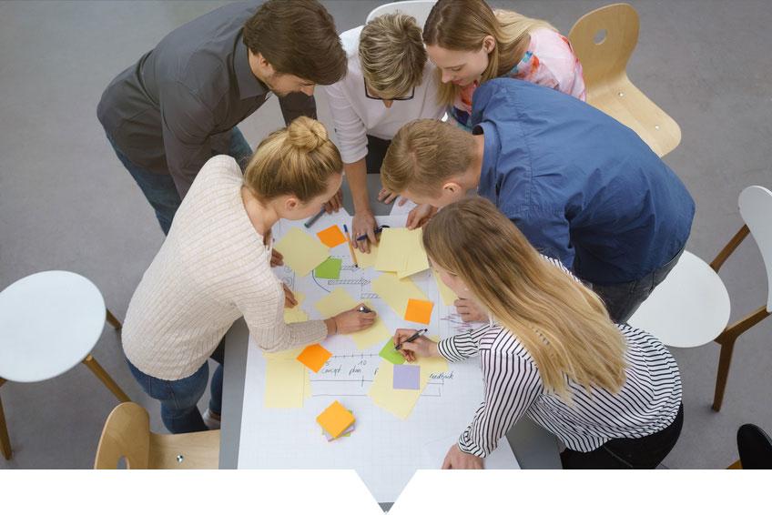 Avec Proj'et'sens : Analysez les interactions entre collègues